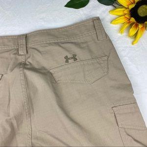 Under Armour Shorts - ❌SOLD❌ Under Armour Khaki Cargo Heat Gear Loose